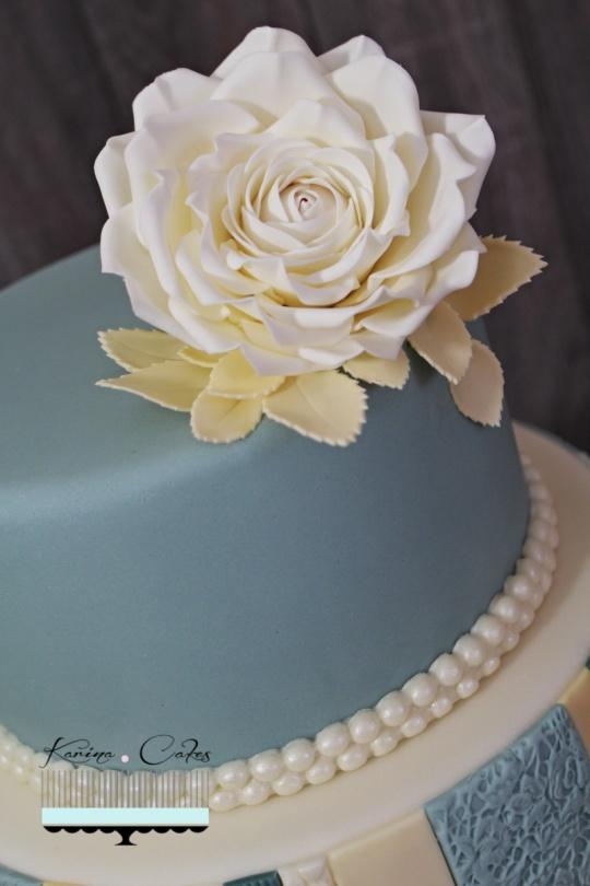 Torta s cajovou ruzou_5668