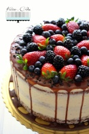 Svieža ovocná torta s mascarpone